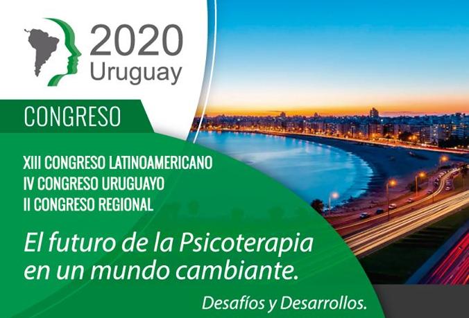 XIII Congreso Latinoamericano /IV Congreso Uruguayo/II Congreso Regional De Psicoterapia 2020