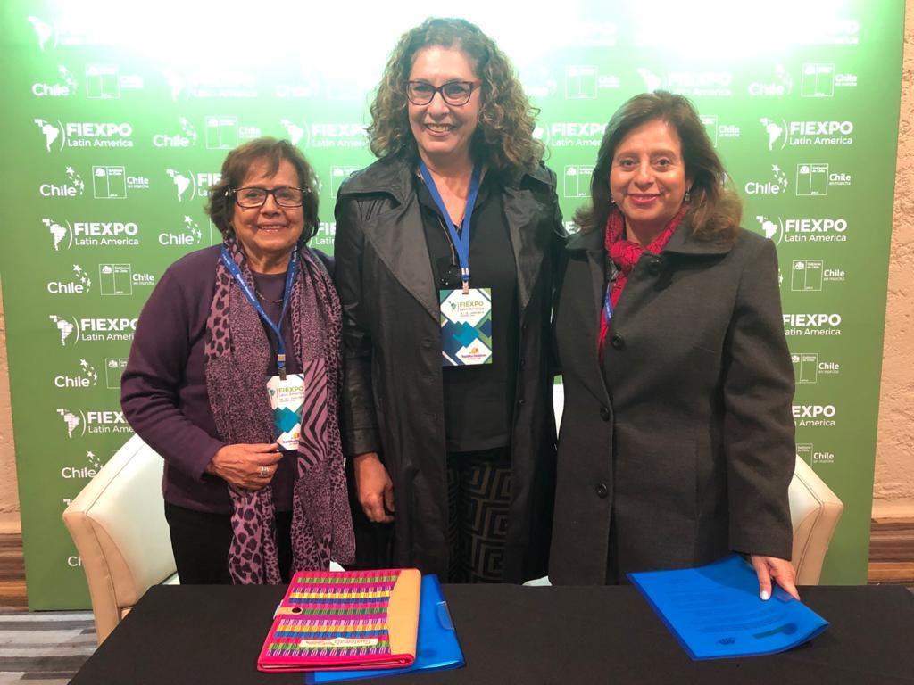 Oriana Vilchez-Alvarez, Emilia Afrange Y Sandra Luna