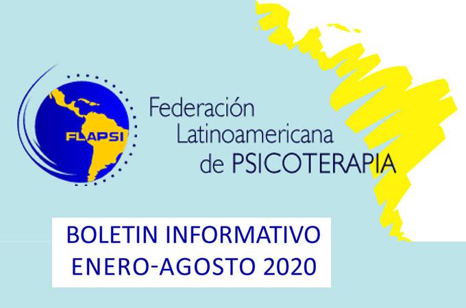 Boletín FLAPSI, Enero-agosto 2020